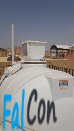 جهاز تبريد خزانات المياه